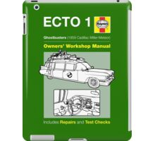 Haynes Manual - Ghosterbusters Ecto 1 - T-shirt iPad Case/Skin