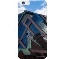 Color Matching Old and New - Downtown Toronto Juxtaposition Left iPhone Case/Skin