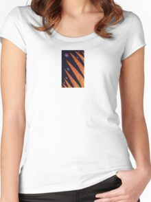 Noche Serena (original drawing) Women's Fitted Scoop T-Shirt