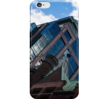 Color Matching Old and New - Downtown Toronto Juxtaposition Right iPhone Case/Skin