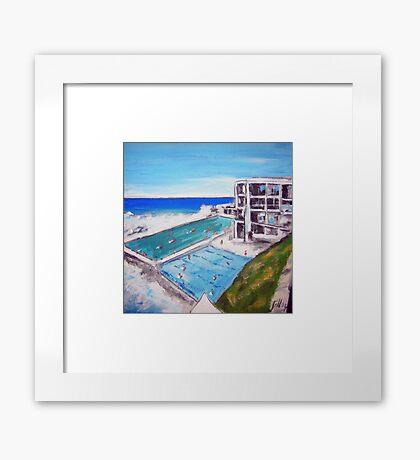 Icebergs-Bondi Framed Print