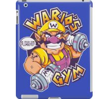 WARIO'S GYM iPad Case/Skin