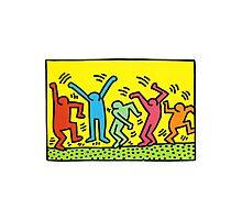 Keith Haring Photographic Print
