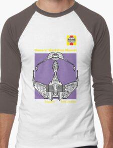Haynes Manual - Klingon Bird of Prey - T-shirt Men's Baseball ¾ T-Shirt