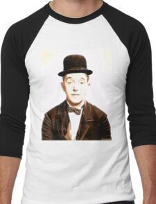 Stan Laurel by JS Men's Baseball ¾ T-Shirt