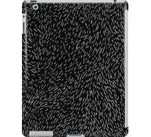 dashed line drawn by pen iPad Case/Skin