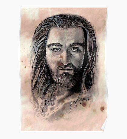 Thorin Oakenshield Caffeine Shock Poster