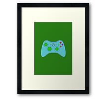 joy stick x box Framed Print
