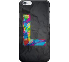 Fun Letter - L iPhone Case/Skin