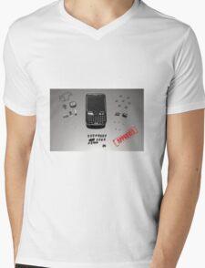PuzzleBerry Mens V-Neck T-Shirt