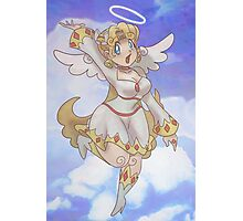 Blond Angel Girl Photographic Print
