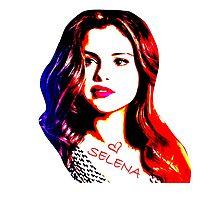 Love Selena Photographic Print