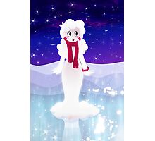 Snow woman Photographic Print