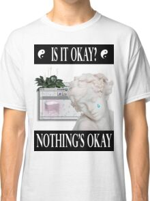 sad angel vaporwave aesthetics Classic T-Shirt
