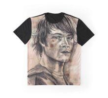 Sam Winchester Caffeine Shock Graphic T-Shirt