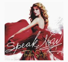 Taylor Swift Speak Now Red Baby Tee