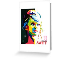 Taylor Swift Merchandise Greeting Card