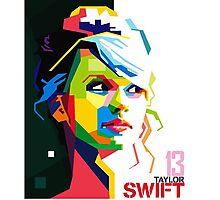 Taylor Swift Merchandise Photographic Print