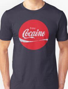 Circular Coca Coke Cola Cocaine  T-Shirt