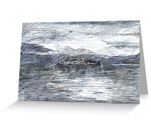 Island of Silence, Lago d'Orta Greeting Card