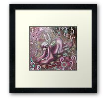 Furisode Fairy Framed Print