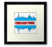 chicago punk Framed Print
