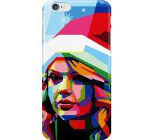 Taylor Swift Santa Hat iPhone Case/Skin
