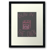 Bun In The Oven Framed Print