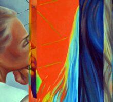 Double Standard, 120-80cm, 2015, oil on canvas Sticker