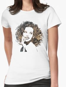 Provocative Face Womens Fitted T-Shirt