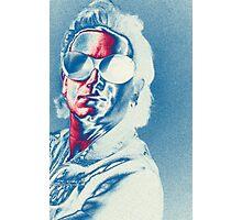 U2 - Bono Colorised Photographic Print