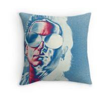 U2 - Bono Colorised Throw Pillow
