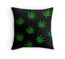 leaf art Throw Pillow