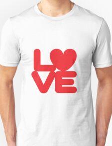 LOVE (01 - Red) T-Shirt