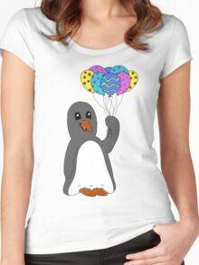 Celebration Penguin Women's Fitted Scoop T-Shirt