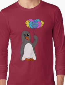 Celebration Penguin Long Sleeve T-Shirt