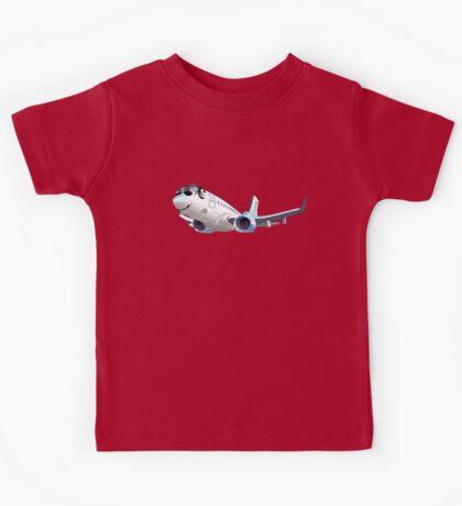 Cartoon Airliner Boeing 737 Kids Tee