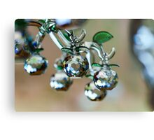 Beautiful home decorative elements produced from crystal glass Metal Print