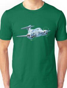 Cartoon Civil utility airplane Unisex T-Shirt
