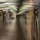 """Appearance of a face in the Barcelona metro by Antonello Incagnone """"incant"""""""