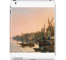 ALBERTO PASINI  A FERRY ON THE NILE  iPad Case/Skin