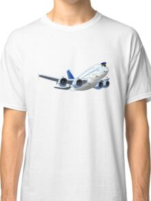 Cartoon Airliner Classic T-Shirt