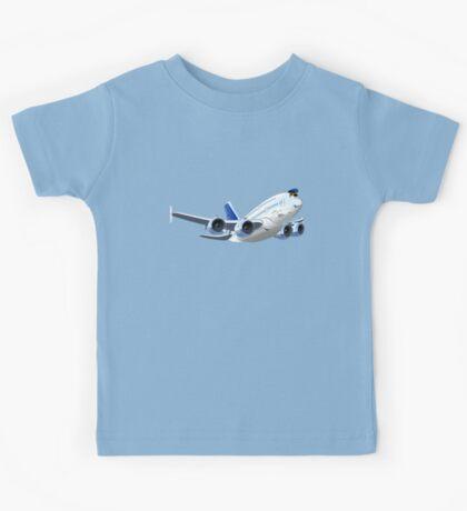 Cartoon Airliner Kids Tee