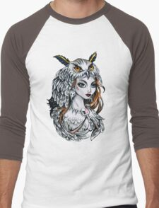Forest witch  Men's Baseball ¾ T-Shirt