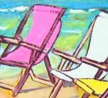 Beach-Side Sticker