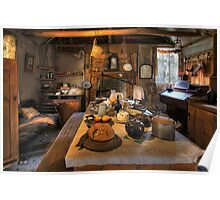 Ned Kelly Home - the kitchen Poster