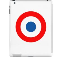 Roundel, Tricolore, cockade, French, Air Force, Bullseye, combat, aircraft, First World War iPad Case/Skin