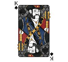 Lemmy - King of Spades - Tribute to Motorhead Photographic Print