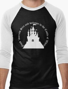 Welcome to the Castle of White (All clothing) Men's Baseball ¾ T-Shirt