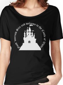 Welcome to the Castle of White (All clothing) Women's Relaxed Fit T-Shirt